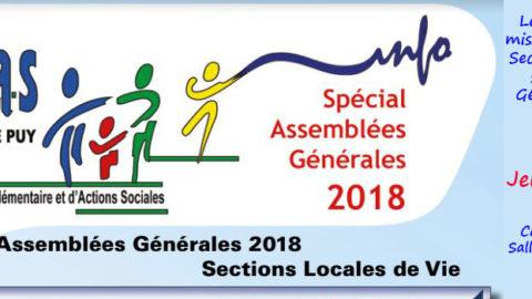 Assemblées Générales des SLVies.