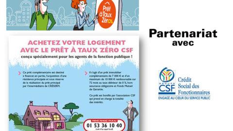 Partenariat avec CSF