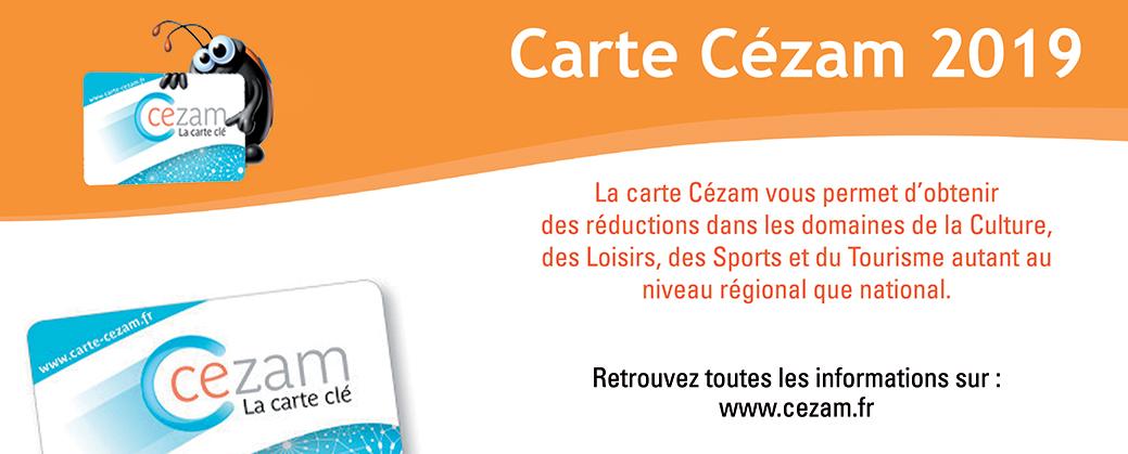 Carte Cezam.Carte Cezam 2019 Cmcas Clermont Le Puy