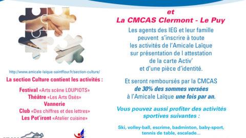 Partenariat Amicale Laïque St-Flour