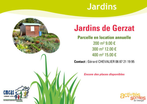 Jardins de Gerzat