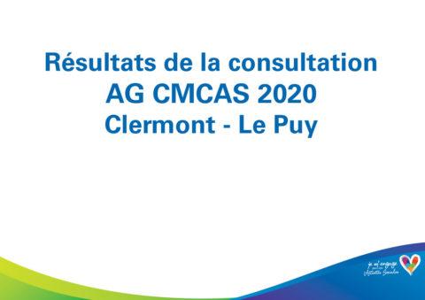 Résultats de la consultation AG 2020